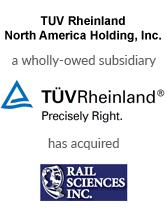 TUV Rheinland / Rail Sciences Inc.